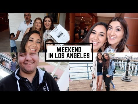 ✈Travel Vlog: LOS ANGELES FOR A WEEKEND