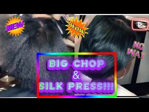 Silk after the Big Chop!