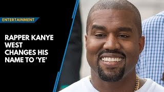 The us rapper said he now wanted to be referred by new name in a post on twitter saturday, same day was due release album, yandhi, du...