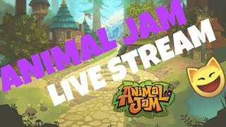 Animal Jam Live Stream!! Road to 150 Subs! Giveaway every 5 subs! -read description-