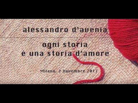 4fa2d769fdf81f Alessandro D'Avenia - Ogni storia è una storia d'amore - Il pubblico di  Milano