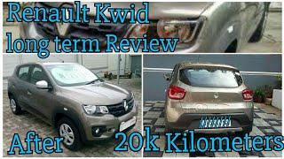 Renault kwid longterm Review after 20K+ Kilometers