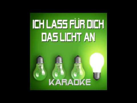 Ich lass für dich das Licht an  - Revolverheld - Karaoke Playback Instrumental
