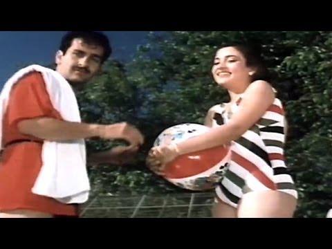 Rajeev Kapoor, Mandakini, Hum To Chale Pardes - Scene 1/10