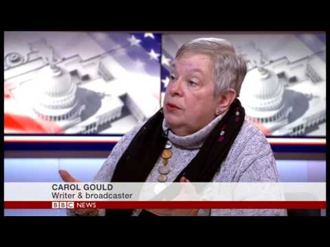 Carol Gould speaking to Kasia Madera about the new Trump Presidency