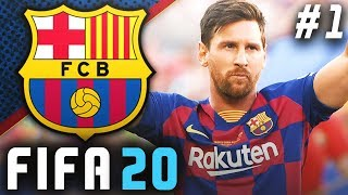 FIFA 20 Barcelona Career Mode EP1 - Our Journey Begins!! New Signings!!