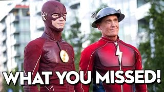 The Flash Season 3 Episode 2: WHAT YOU MISSED! - Paradox Easter Eggs