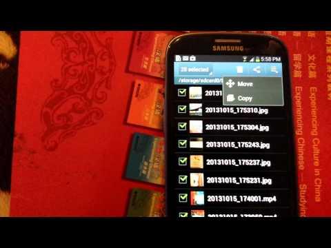 Samsung Galaxy S3 / S2: Move your Photos & Videos to your SD Card