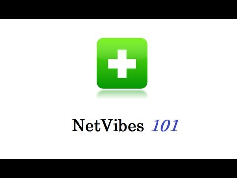 How to use NetVibes 101
