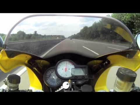 Honda VTR 1000 Firestorm  SC36 - Autobahn, Topspeed, etc.