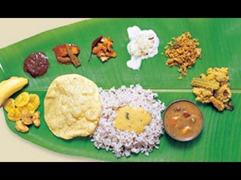 Sadya keralas traditional vegetarian feast youtube forumfinder Choice Image