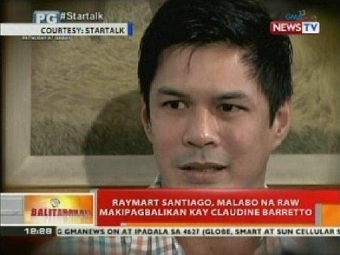 BT: Raymart Santiago, malabo na raw makipagbalikan kay Claudine Barretto