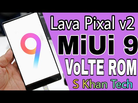 Lava Pixel V2 Custom ROM Videos - Waoweo