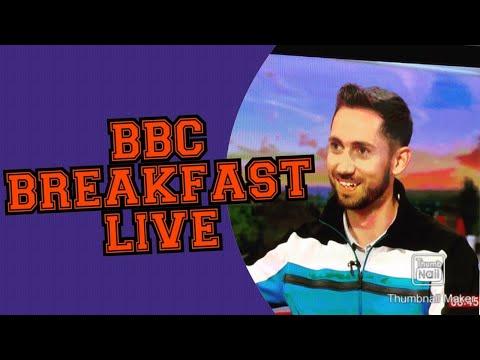 Richie Marsden Interview on BBC Breakfast, Masters 2017, Final round preview