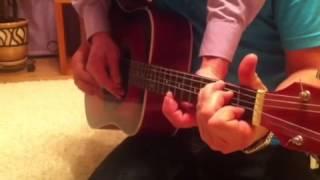 В траве сидел кузнечик в 4 руки на гитаре