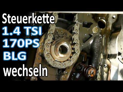 Steuerkettensatz Steuerketten Satz für Audi VW Skoda Seat 1.4 TFSI TSI CAXA CAXC