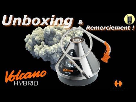 Volcano Hybrid, Unboxing & Remerciement, Vaporisateur Storz & Bickel