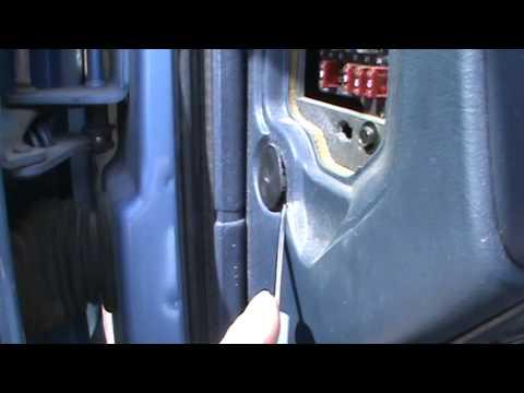 Chevy S 10 Door Switch Repair Youtube