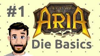 Tutorial: Legends of Aria (Ultima Online 2) - Basics #1