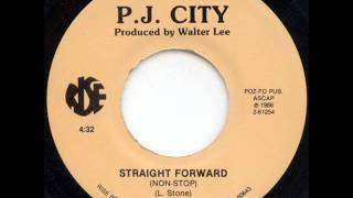 [Modern Soul] P.J. City - Straight Forward (Non Stop)