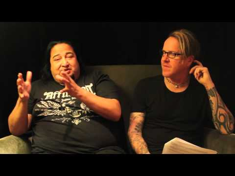 FEAR FACTORY - Genexus (FAN Q&A INTERVIEW w BURTON C BELL + DINO CAZARES)