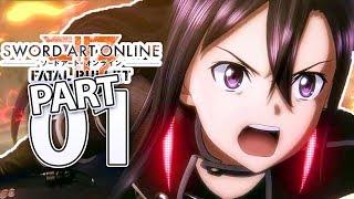 KIRITO MODE!   Sword Art Online: Fatal Bullet Kirito Mode Gameplay Walkthrough Part 1 (PS4)
