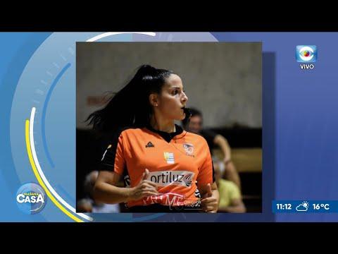Primera terna arbitral femenina de básquetbol