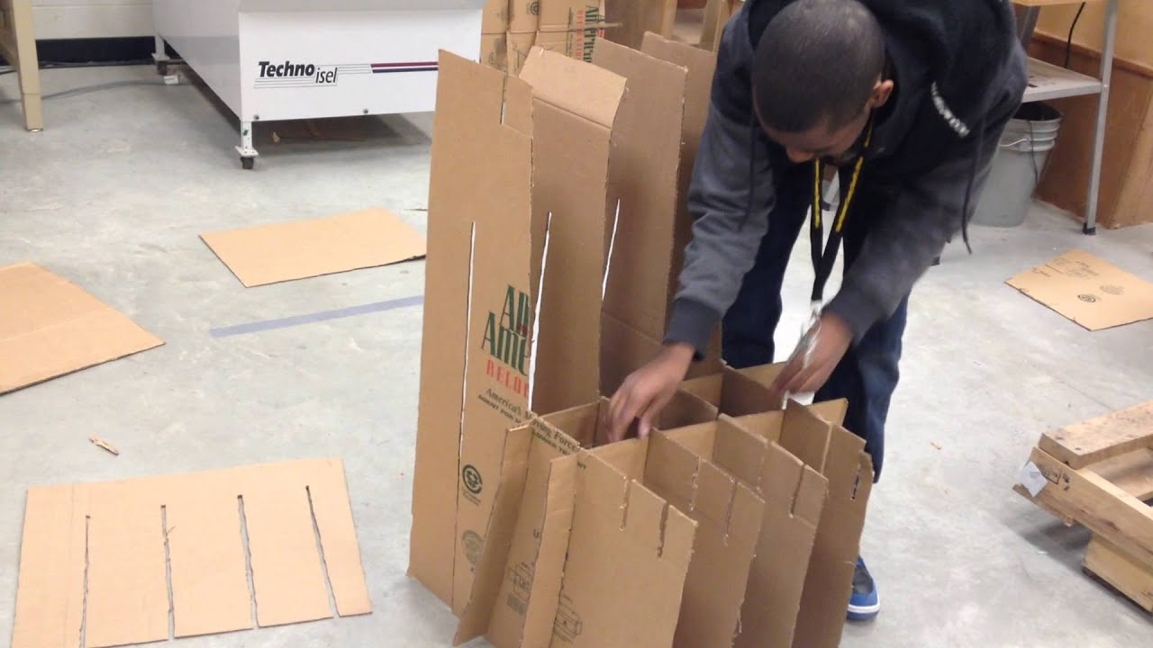 How To Make A Cardboard Chair How To Build Cardboard Chair 2014 Cdfx Youtube