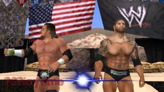 SVR 2011 - Evolution Entrance PSP (Triple H and Batista) [Hidden Announcement]]
