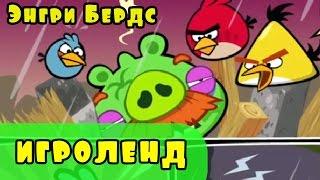 Мультик Игра для детей Энгри Бердс  Прохождение игры Angry Birds 25 серия