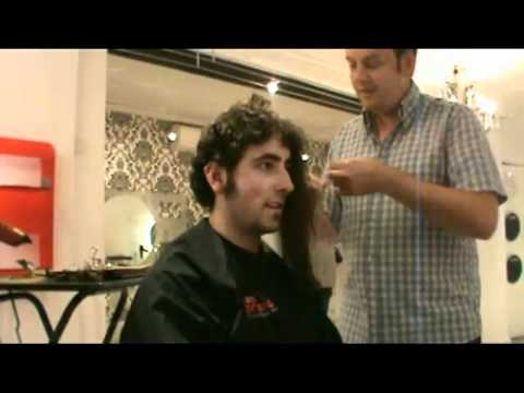 Hair Extensions - on a man!!! - YouTube