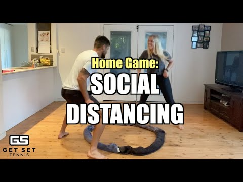 Social Distancing - Warm Up Game