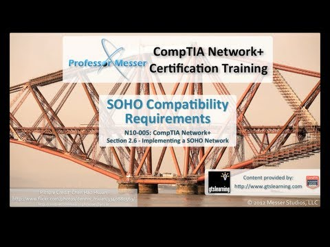 SOHO Compatibility Requirements - CompTIA Network+ N10-005: 2.6