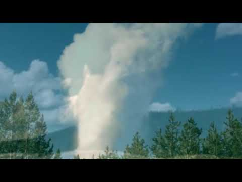 World's tallest geyser erupts again in Yellowstone
