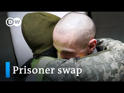 Ukraine, Russia-backed rebels swap prisoners in budding peace effort | DW News