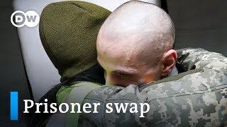 Ukraine, Russia-backed rebels swap prisoners in budding peace effort | DW News