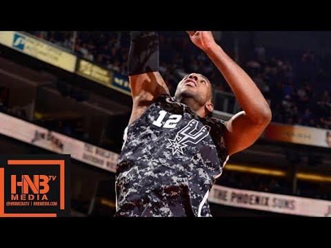 San Antonio Spurs vs Phoenix Suns Full Game Highlights / Feb 7 / 2017-18 NBA Season