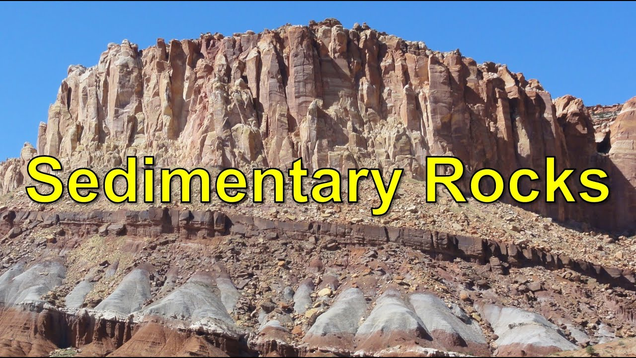 notes on sedementary rocks Igneous rocks are formed by the solidification and cooling of magma in volcanic   you will note that it is comprised of numerous grains or fragments that have.