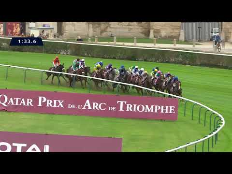 Revivez la course du Qatar Prix de l'Arc de Triomphe 2017