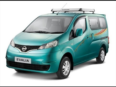 Nissan Evalia Exteriors, Interiors And Features Walk Around Video Review