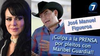 José Manuel ¡Culpa a la PRENSA por pleitos con Maribel Guardia! / ¡Suéltalo Aquí! Con A. Palacios