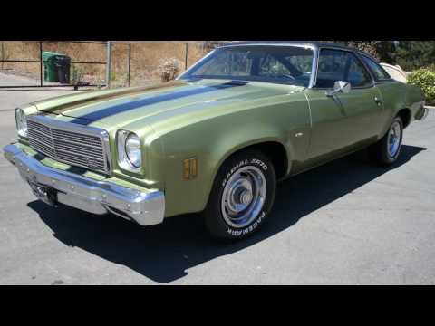 1974 Chevy Malibu Chevelle SS Muscle car DONK ? For Sale Unique