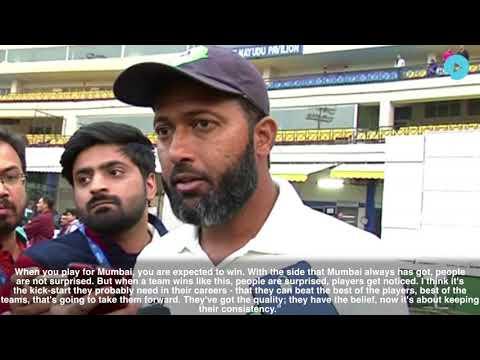 Wasim Jaffer, Batsman/Mentor Adds A 9th Ranji Title