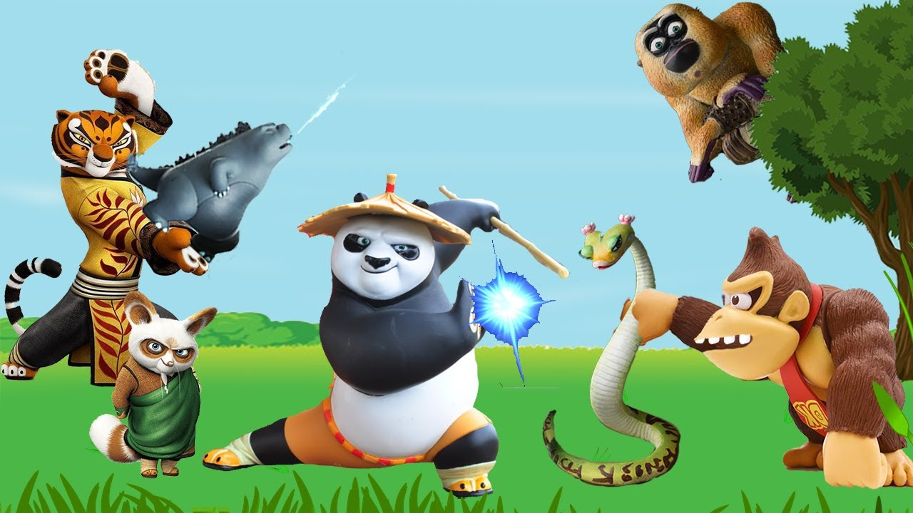 حواديت أطفال - الباندا والقلادة الذهبية الجزء الأول