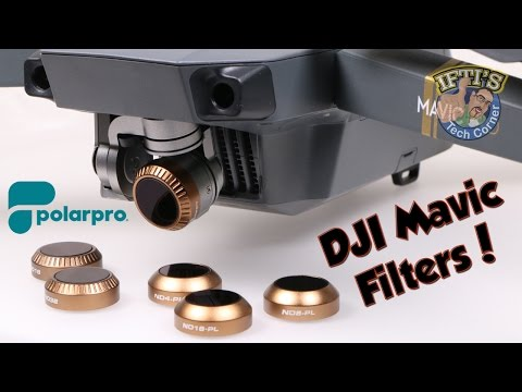 PolarPro - DJI Mavic Cinema Series Filters (Shutter/Vivid Collections) : Best Mavic Filters?