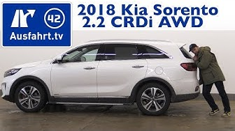 2018 Kia Sorento 2.2 CRDi AWD AT GT-Line  - Kaufberatung, Test, Review