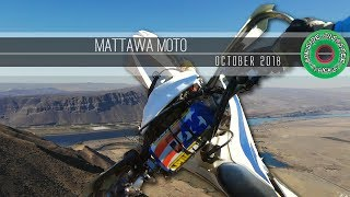 Mattawa Enduro Singletrack Moto - October 2018 // GoPro Hero 7 & DJI Mavic Drone Video