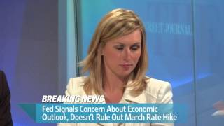 Fed Signals Concern About Economic Outlook