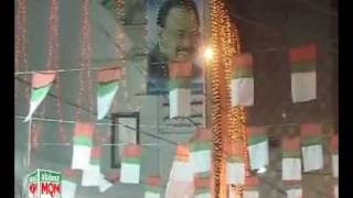 "Sukkur decorated with MQM flags & hoardings for ""Prosperous Sindh...Strong Pakistan"" Convention"