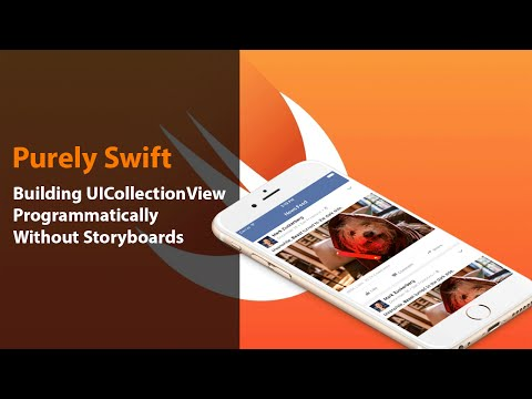 iOS Swift: Build UICollectionView programmatically without Storyboards